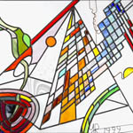 Stained Glass samples - Yehuda Rotenberg art
